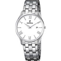 watch only time man Festina Acero Clasico F6840/3