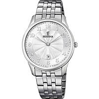 watch only time man Festina Acero Clasico F6856/1