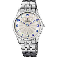 watch only time man Festina Acero Clasico F6856/2