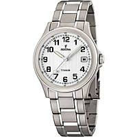 watch only time man Festina Calendario Titanium F16458/1