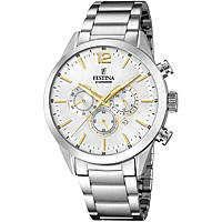 watch only time man Festina Timeless Chronograph F20343/1