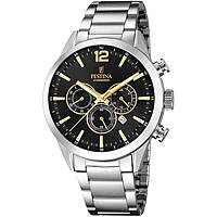 watch only time man Festina Timeless Chronograph F20343/4