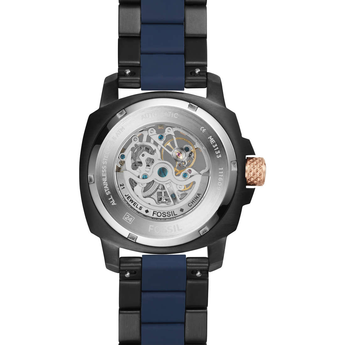 watch only time man Fossil Modern Machine ME3133