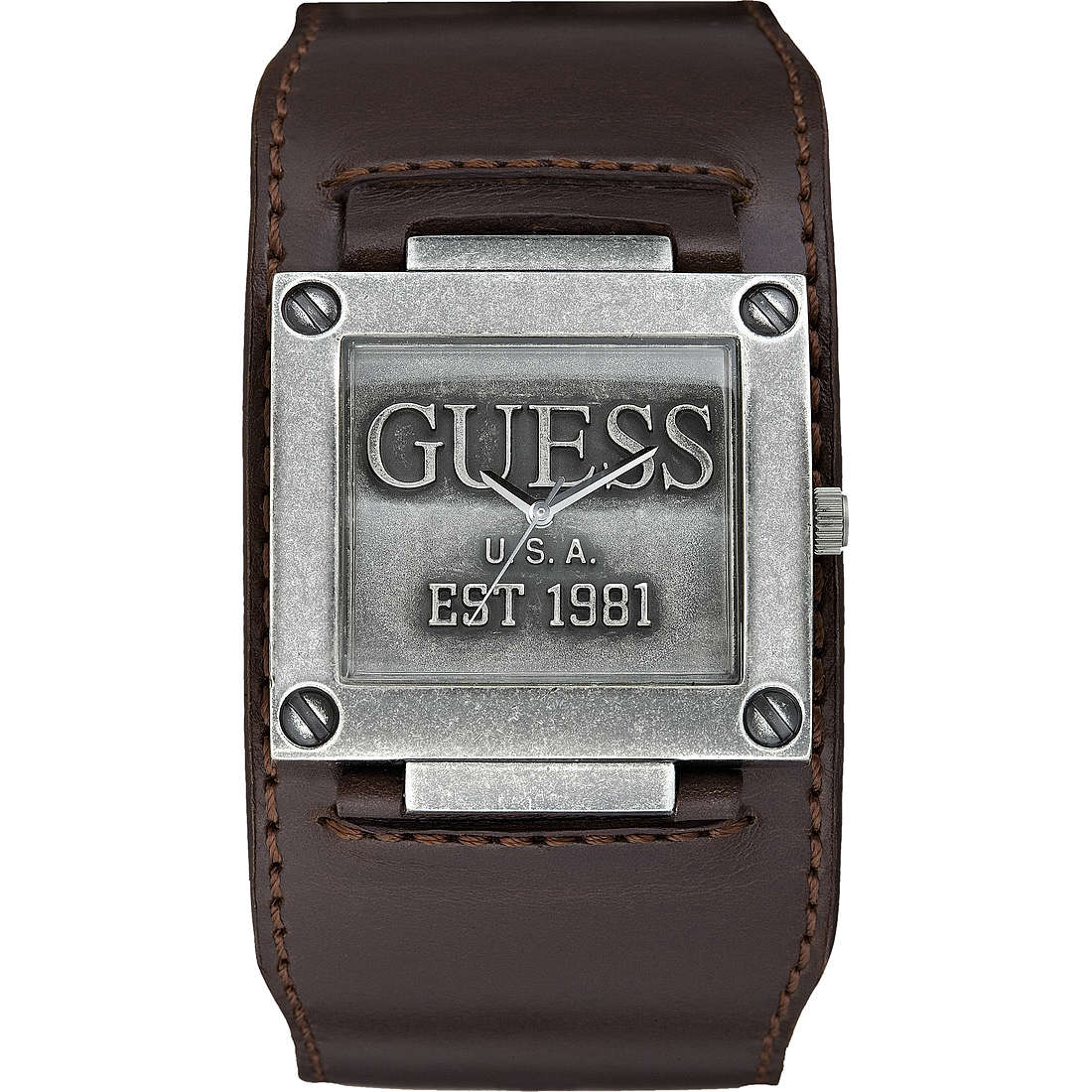 watch only time man Guess Cuff W0418G1