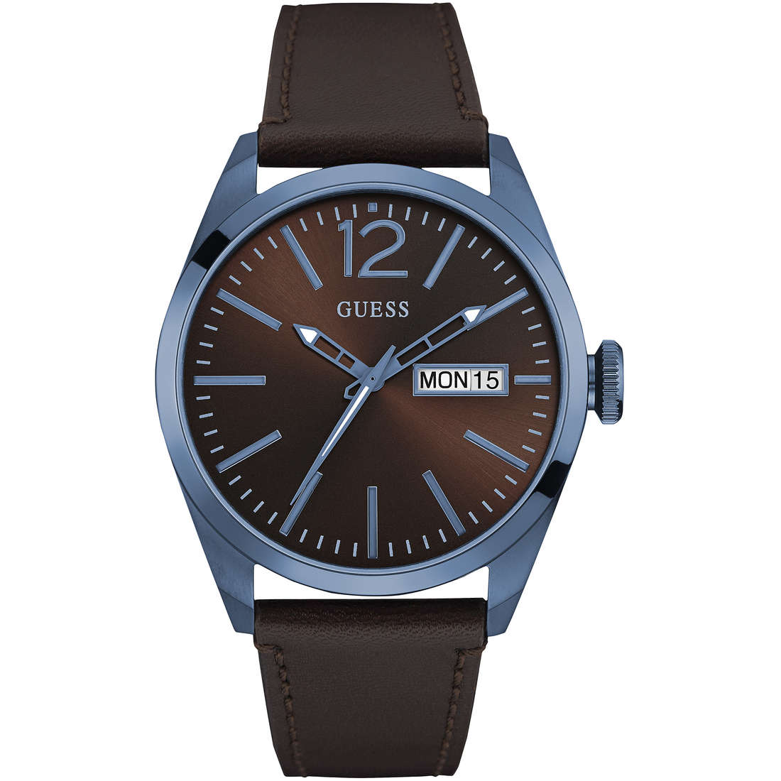 watch only time man Guess W0658G8