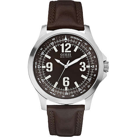 watch only time man Guess W65017G2