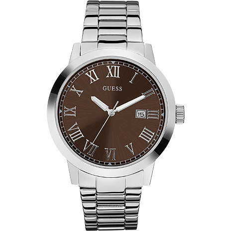 watch only time man Guess W85078G2