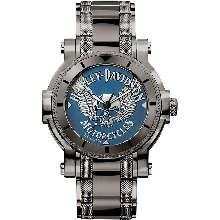 77e93a8e229 watch only time man Harley Davidson 78A117 only time Harley Davidson