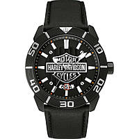 watch only time man Harley Davidson 78B136