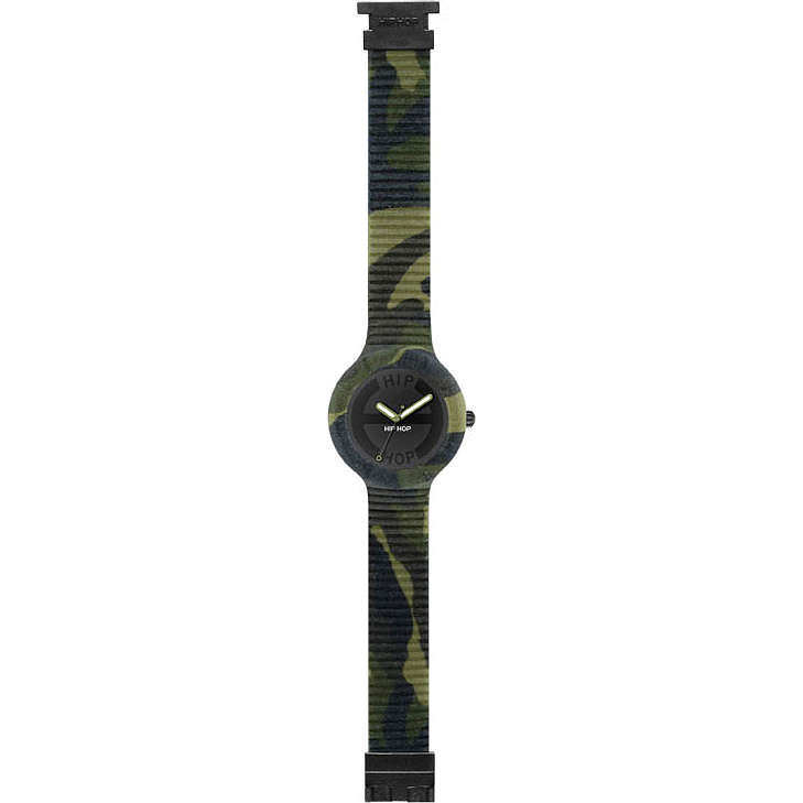 watch only time man Hip Hop CAMOUFLAGE HWU0365