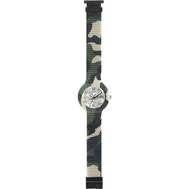 watch only time man Hip Hop CAMOUFLAGE HWU0367