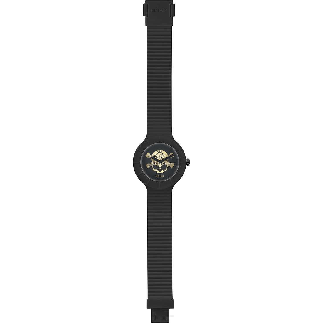 watch only time man Hip Hop Skull HWU0468