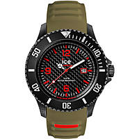 watch only time man ICE WATCH Ice Carbon IC.CA.3H.BKA.B.S15