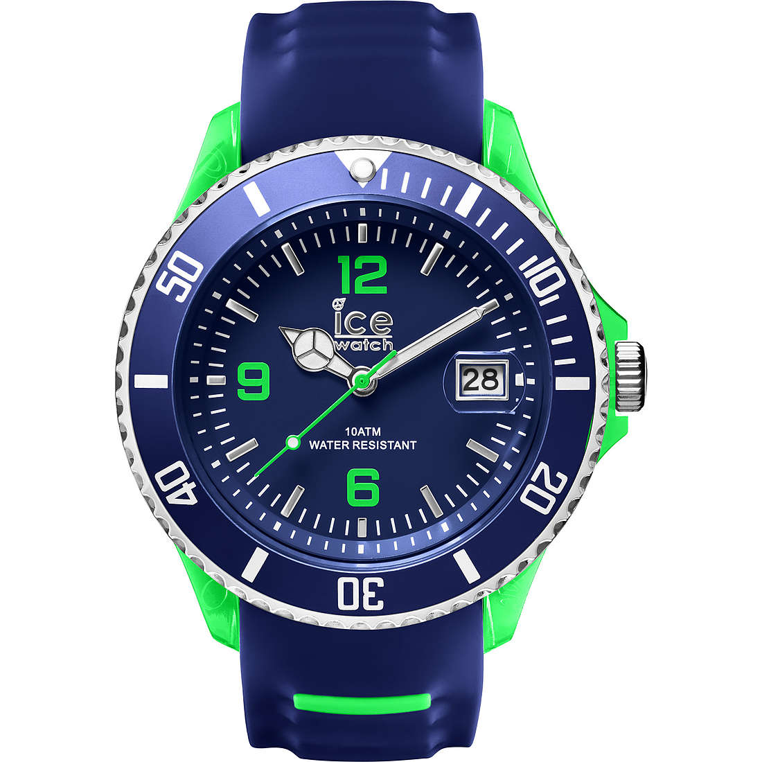 watch only time man ICE WATCH Ice-Sporty SR.3H.BGN.BB.S.15