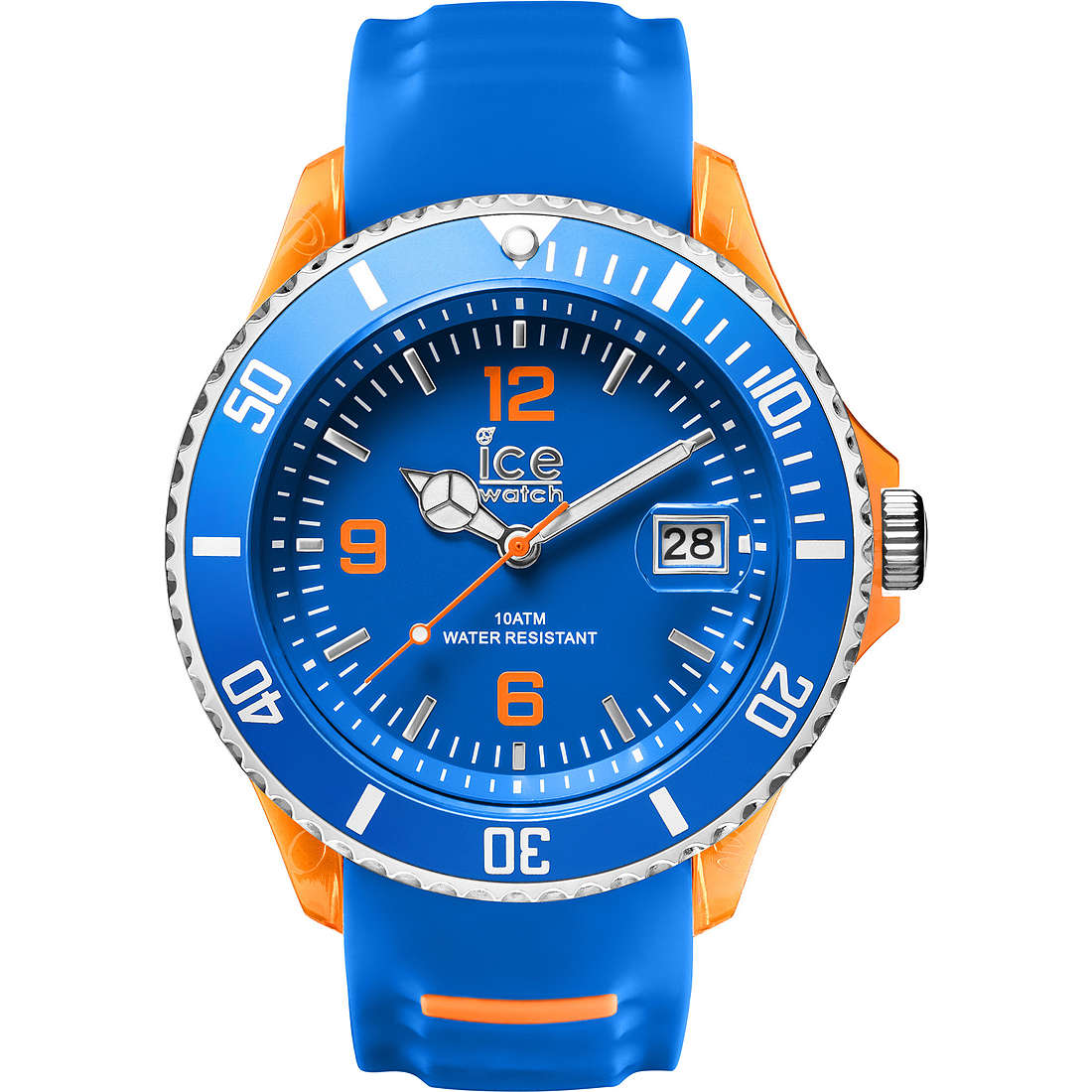 watch only time man ICE WATCH Ice-Sporty SR.3H.BOE.BB.S.15