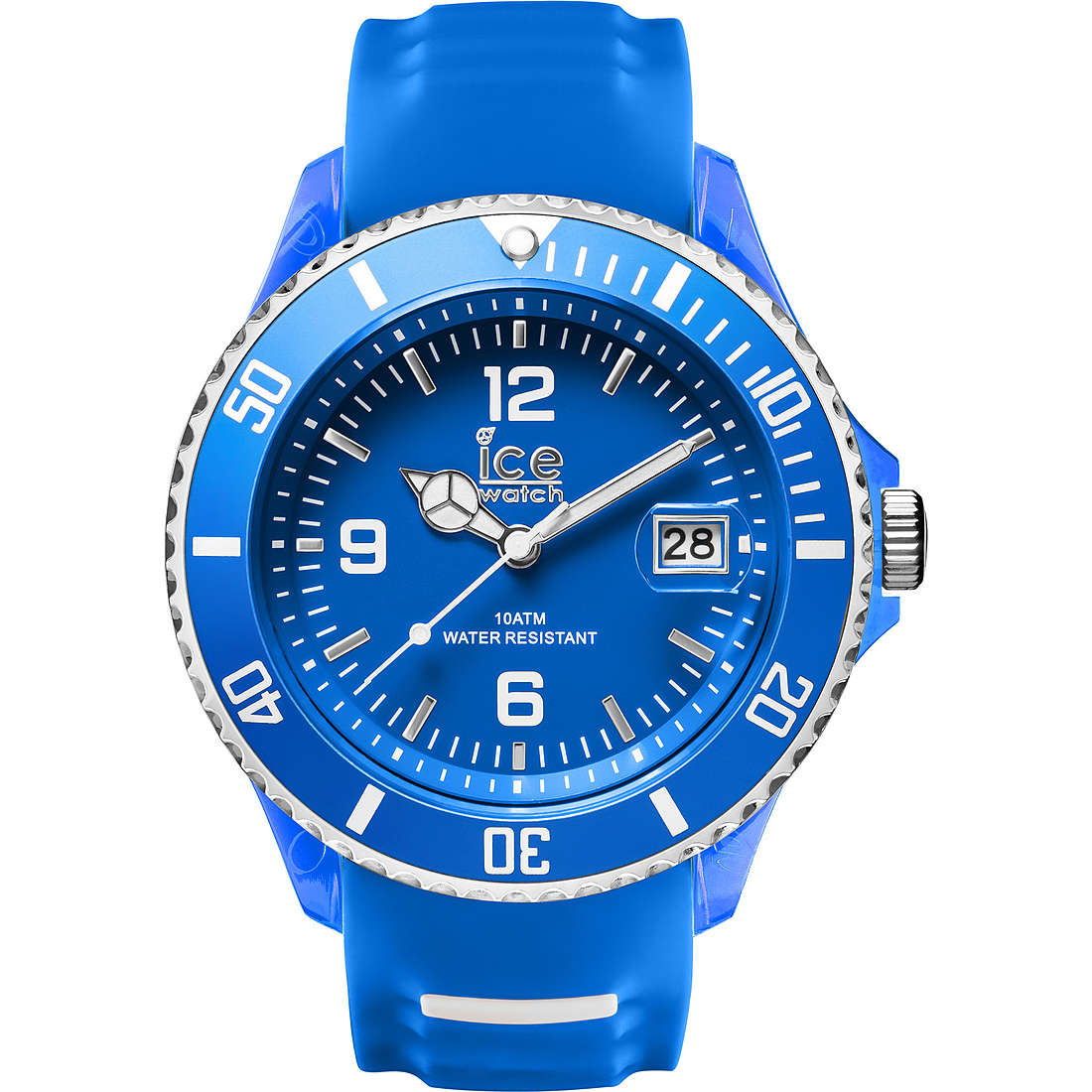 watch only time man ICE WATCH Ice-Sporty SR.3H.BWE.BB.S.15