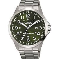 watch only time man Lorus Sports RH927GX9