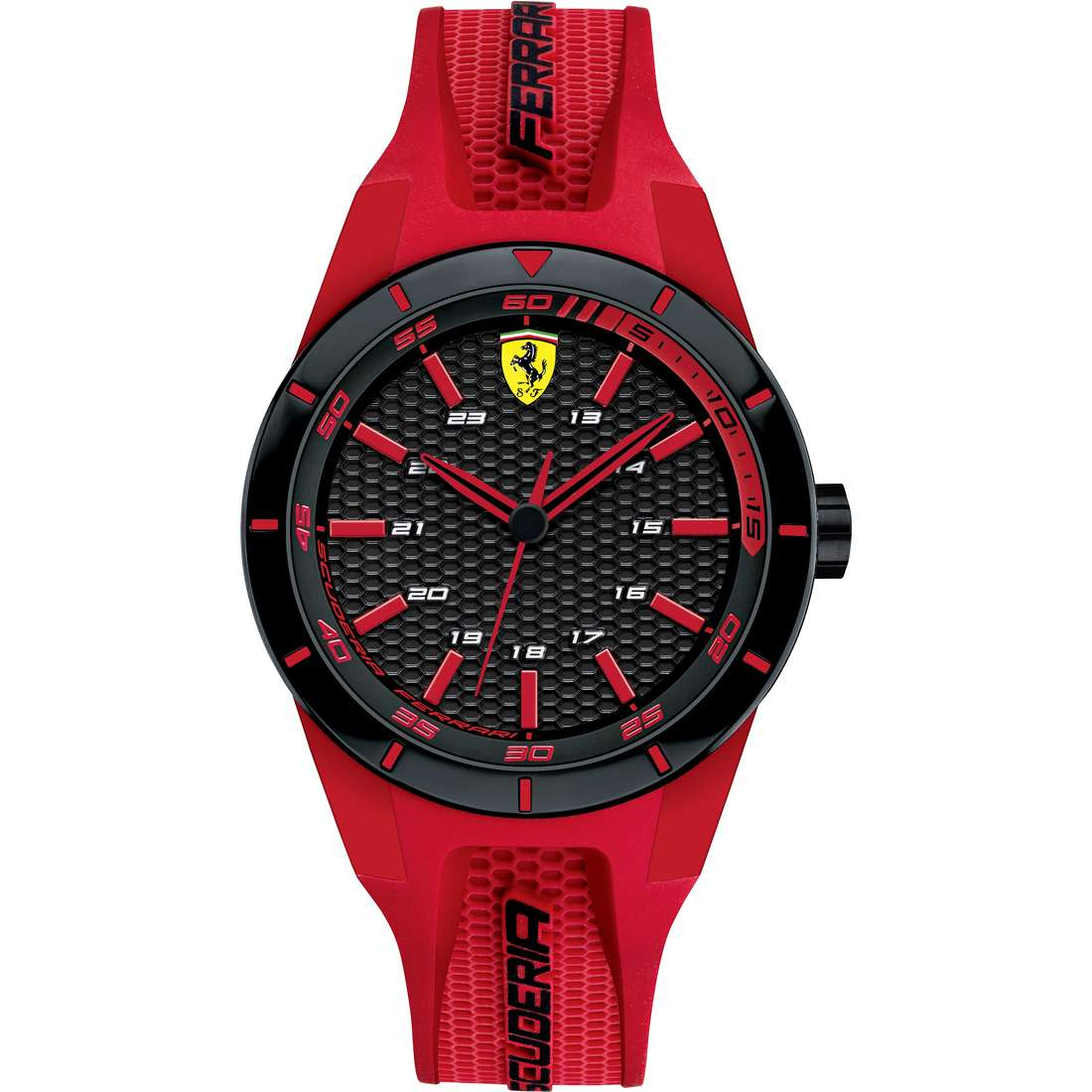 watch only time man Scuderia Ferrari Red FER0840005