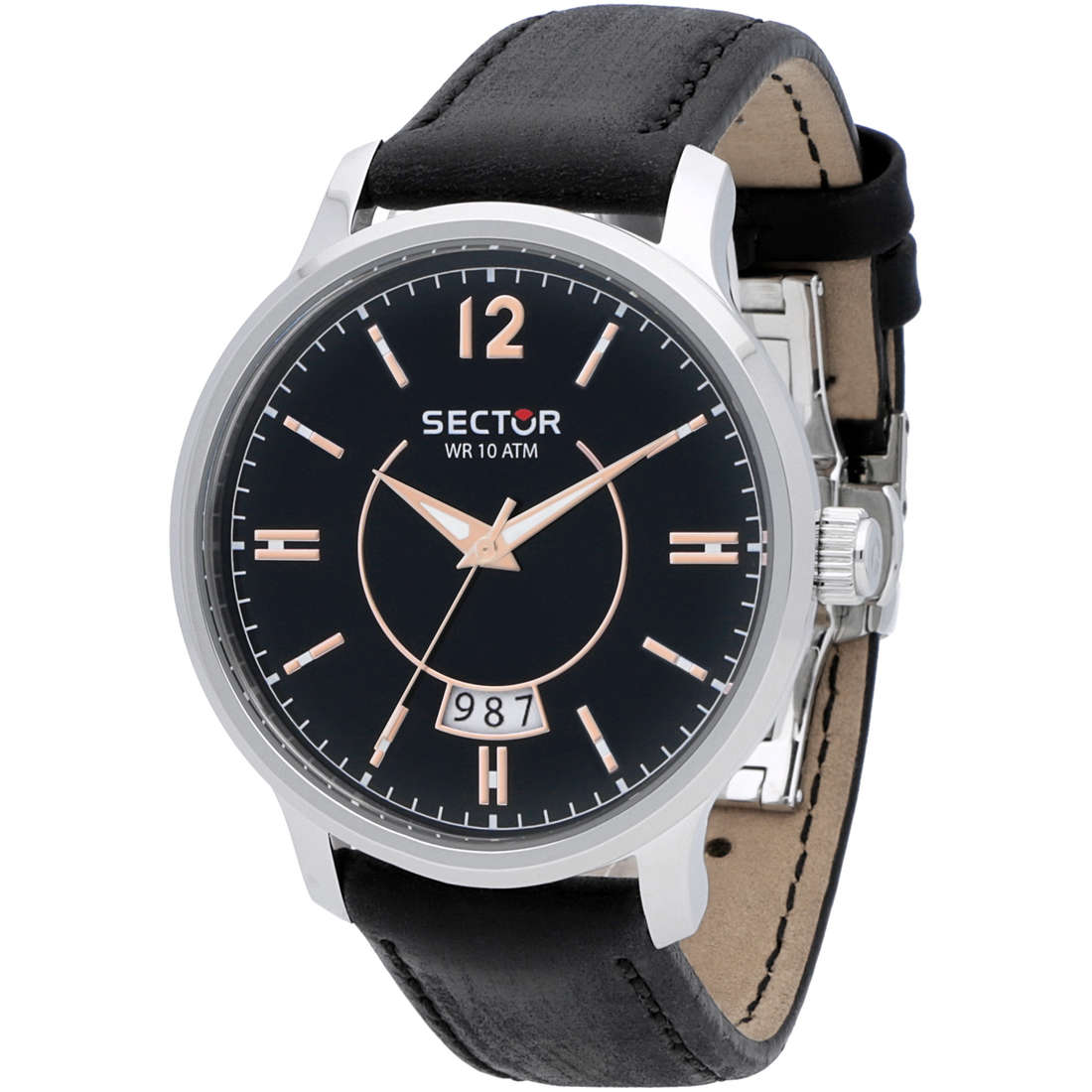 watch only time man Sector 640 R3251593003