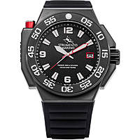 watch only time man Strumento Marino Abisso SM129S/BK/NR/NR