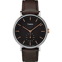 watch only time man Timex Fairfield Sub Second TW2R38100