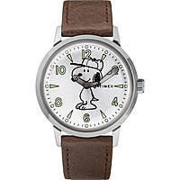 watch only time man Timex Welton Vintage Snoopy TW2R94900D7