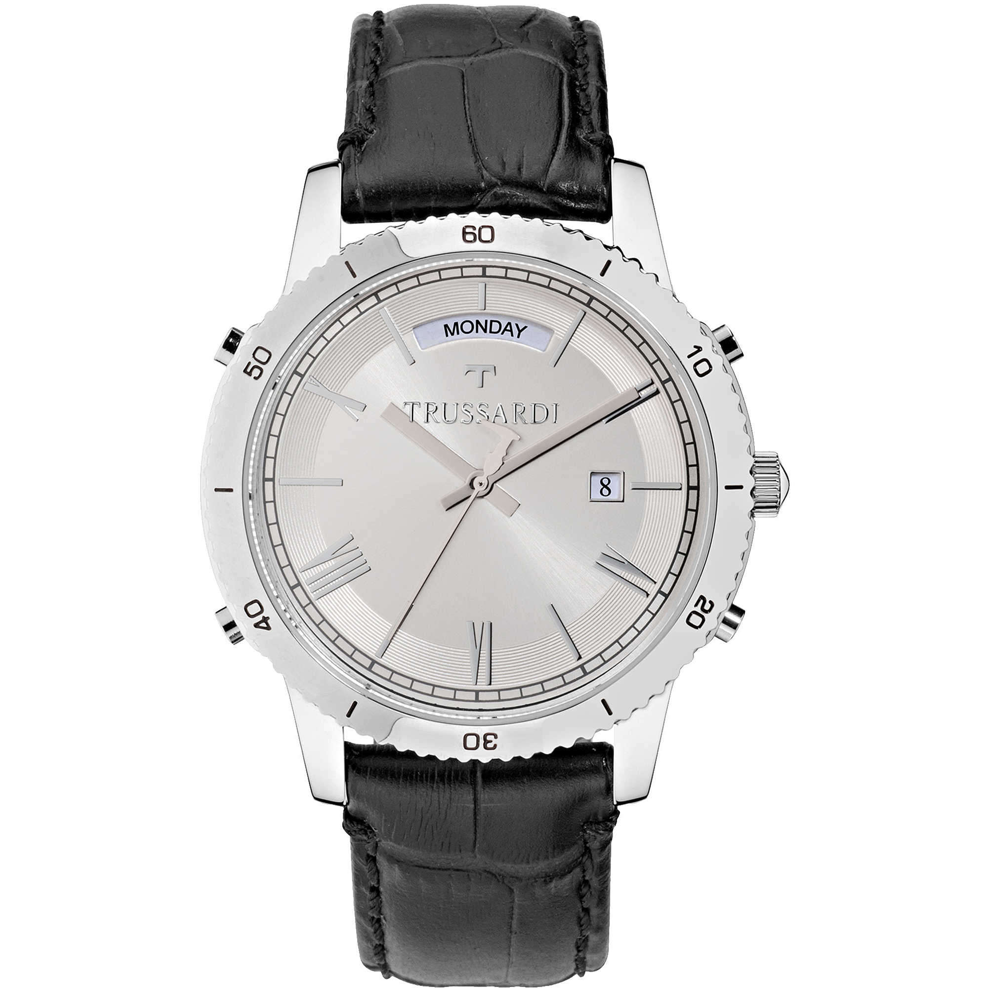 watch only time man Trussardi Heritage R2451117003 only time ... cfa76f27757