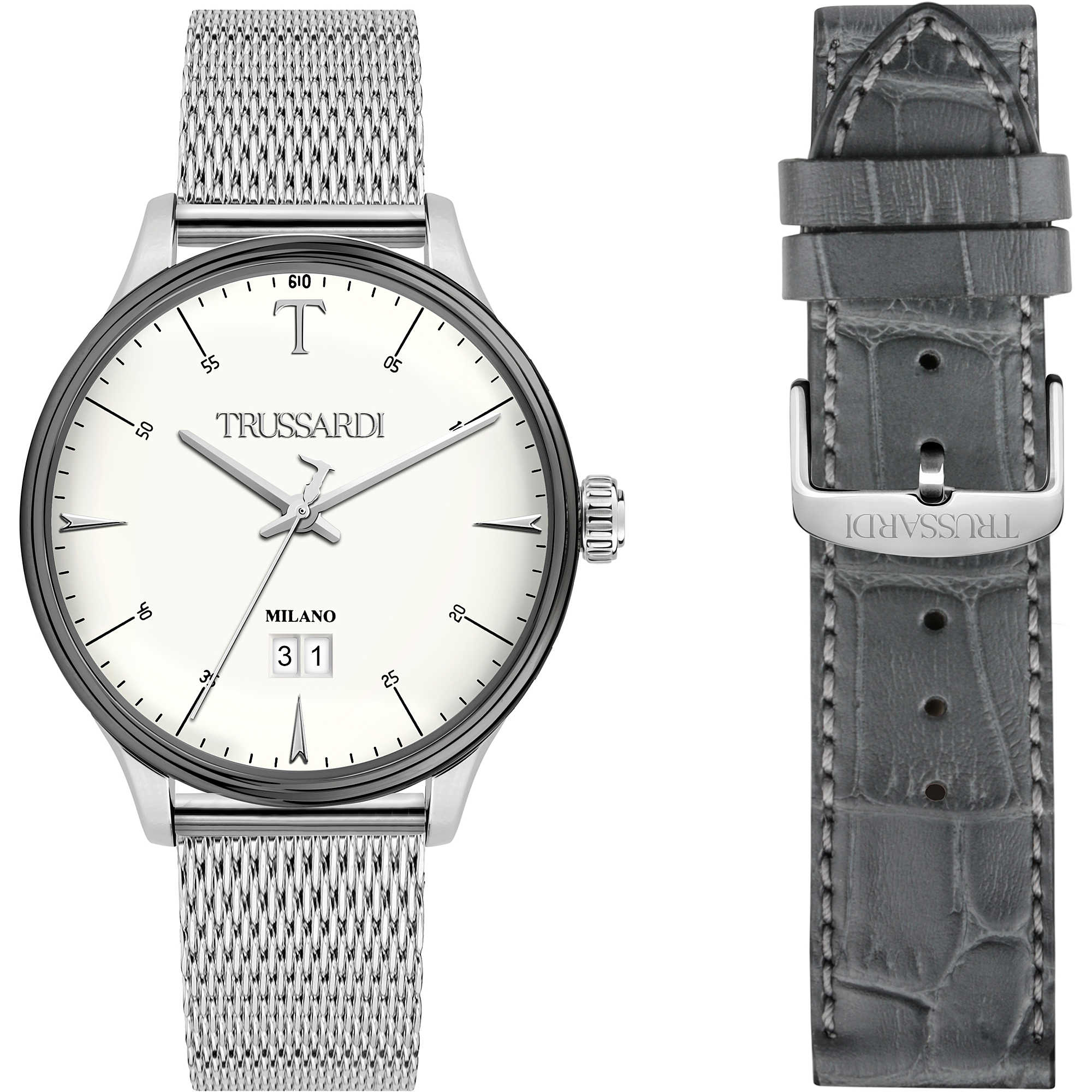watch only time man Trussardi T-Complicity R2453130003 only time ... f49d7196dff