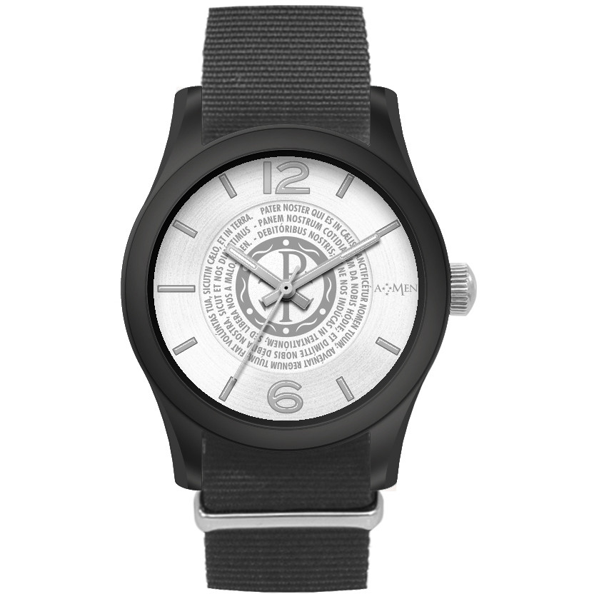 watch only time unisex Amen Padre Nostro WPNNB