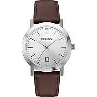 watch only time unisex Bulova Dress 96B217