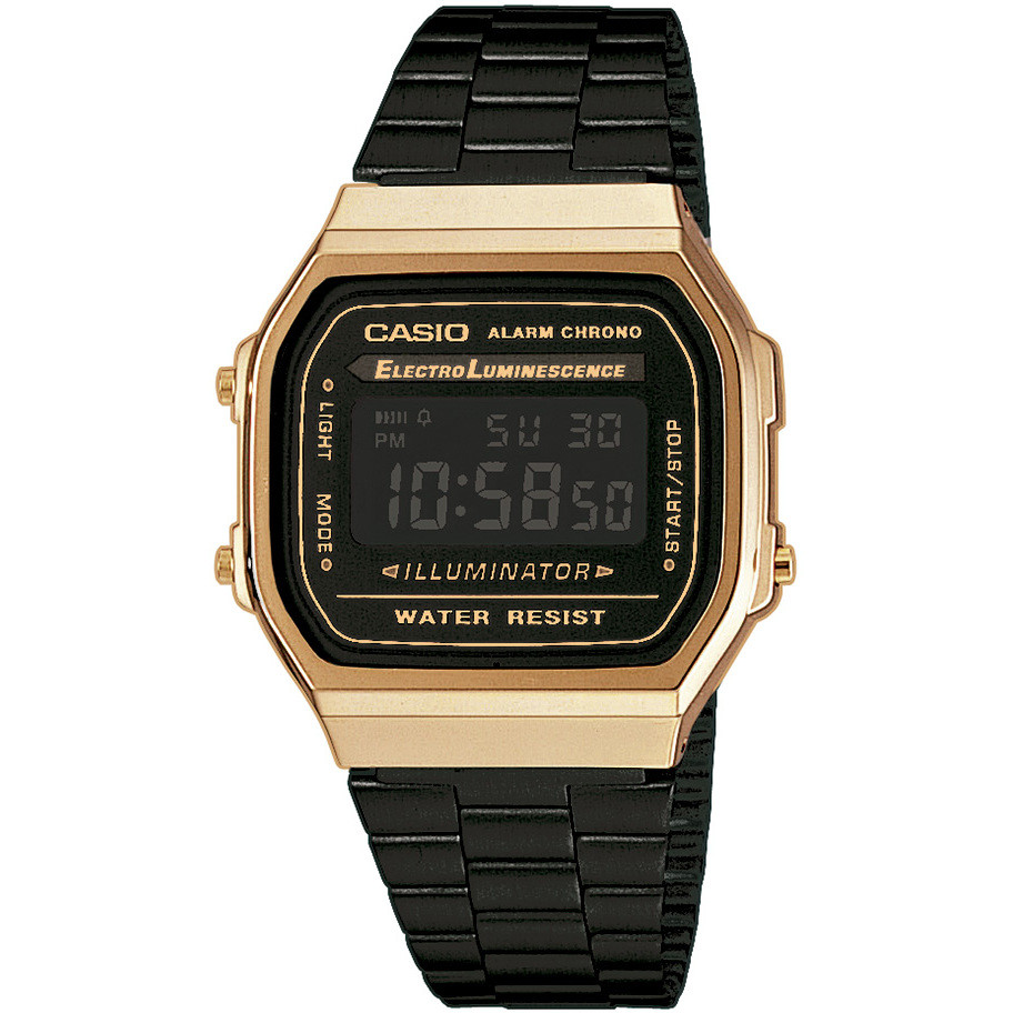watch only time unisex casio a168wegb 1bef digitals casio. Black Bedroom Furniture Sets. Home Design Ideas