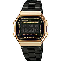 watch only time unisex Casio A168WEGB-1BEF