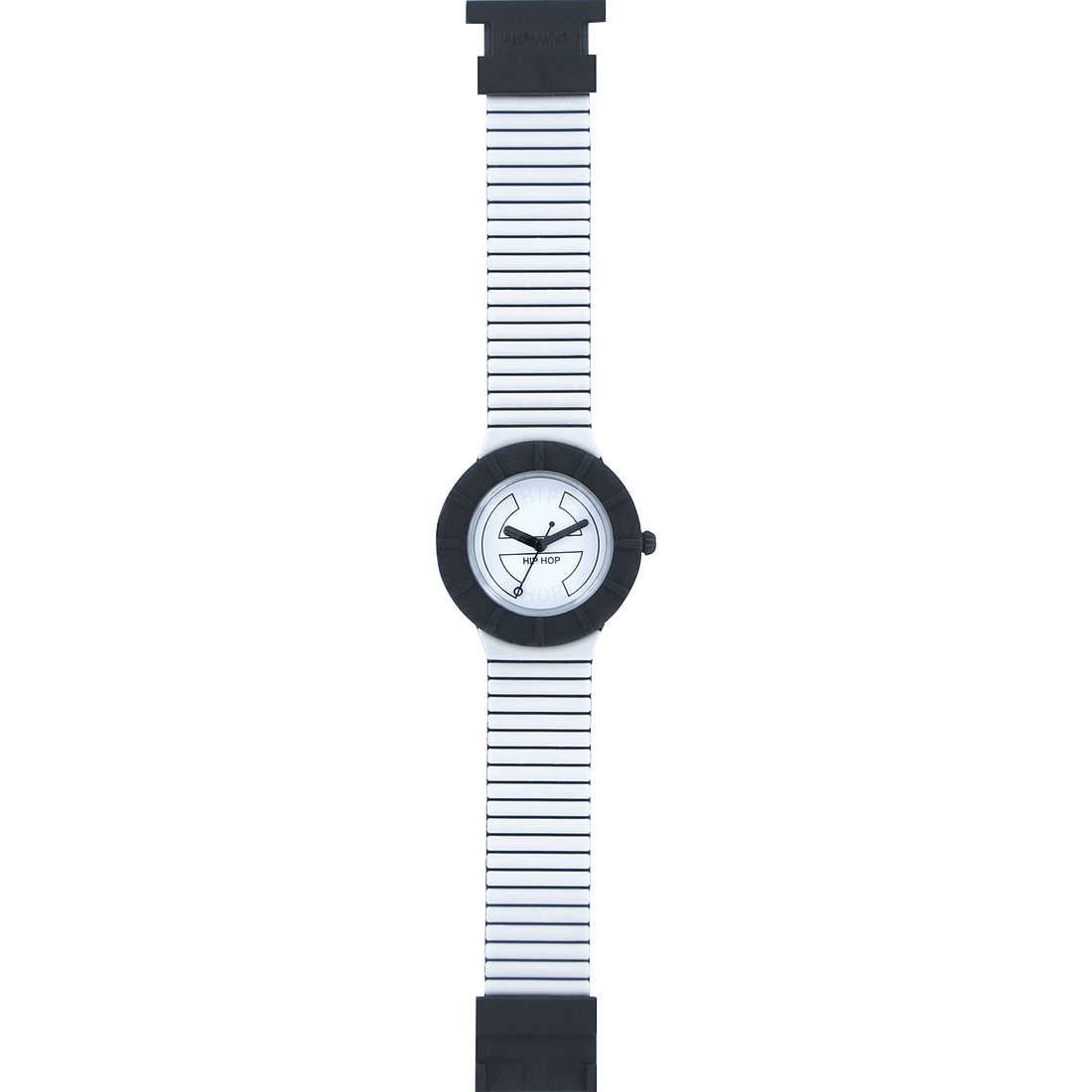 watch only time unisex Hip Hop Bicolor HWU0222