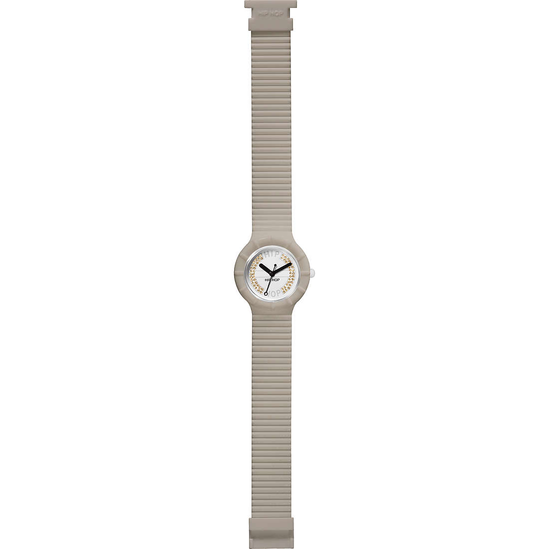 watch only time unisex Hip Hop Crystal Candy HWU0382