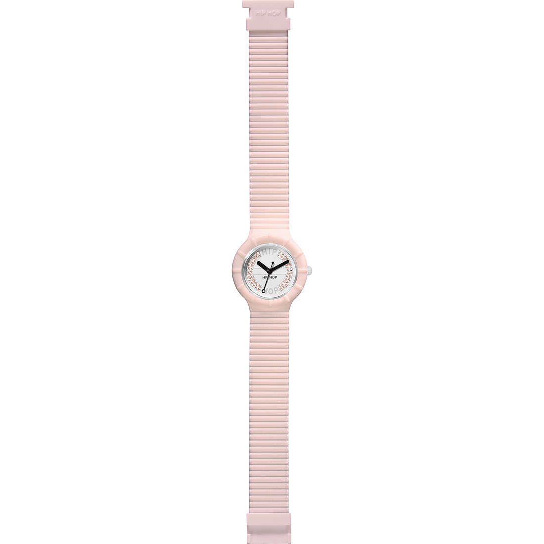 watch only time unisex Hip Hop Crystal Candy HWU0383