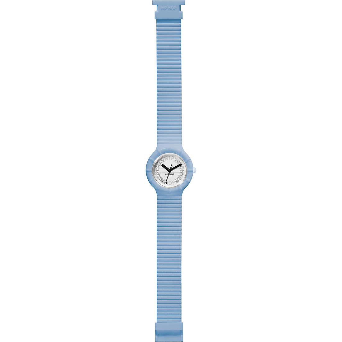 watch only time unisex Hip Hop Crystal Candy HWU0387