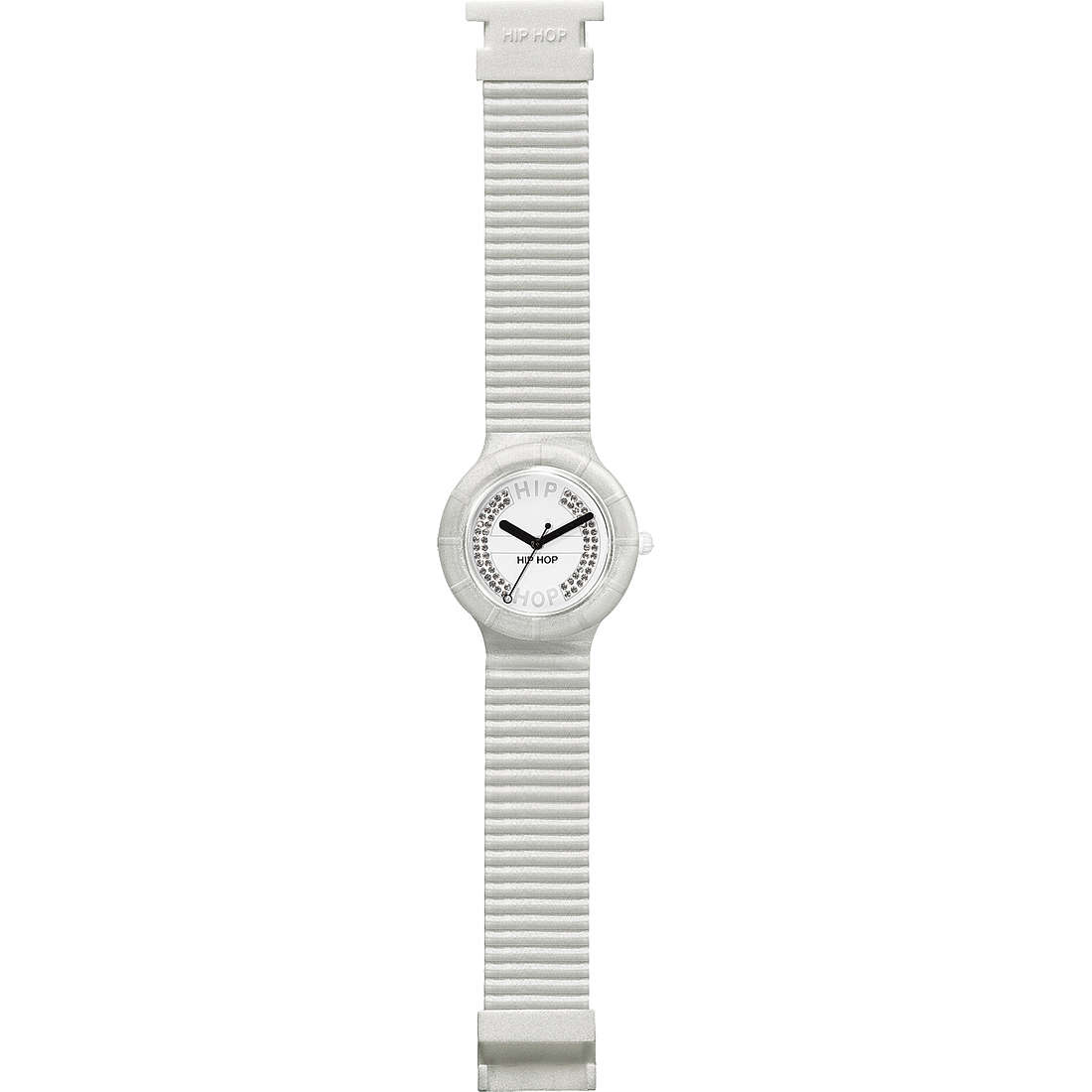 watch only time unisex Hip Hop Crystals HWU0070