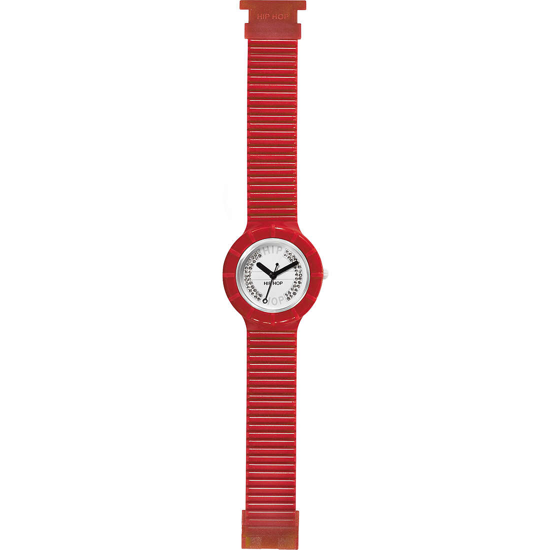 watch only time unisex Hip Hop Crystals HWU0074