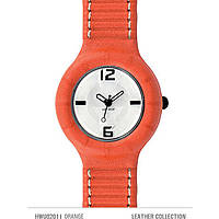watch only time unisex Hip Hop Leather HWU0201