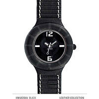 watch only time unisex Hip Hop Leather HWU0204
