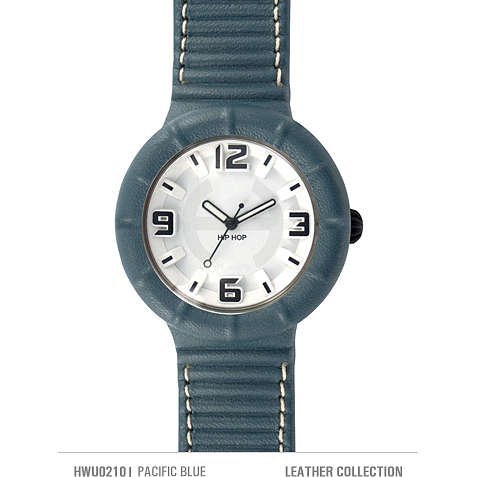 watch only time unisex Hip Hop Leather HWU0210
