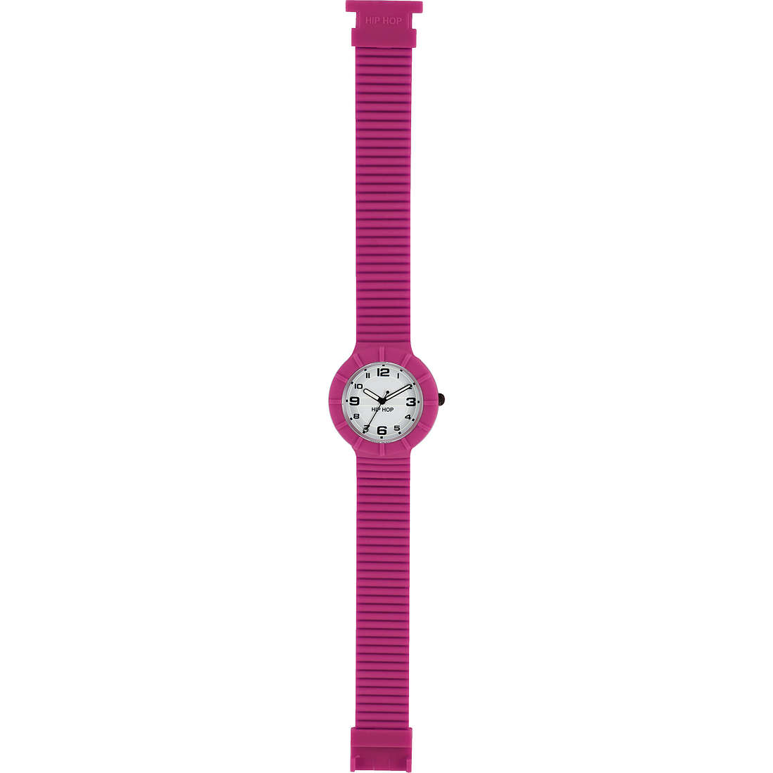 watch only time unisex Hip Hop Numbers HWU0254