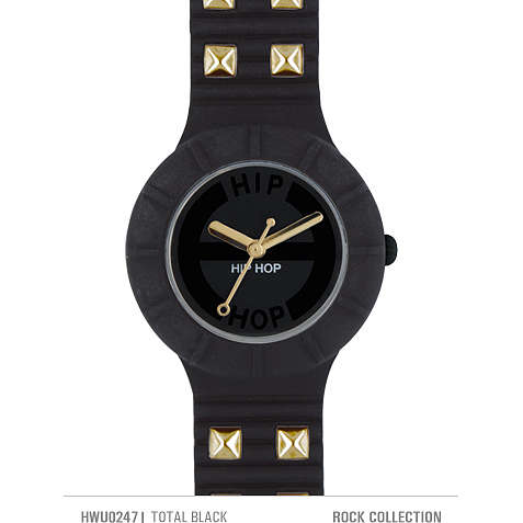 watch only time unisex Hip Hop Studs HWU0247