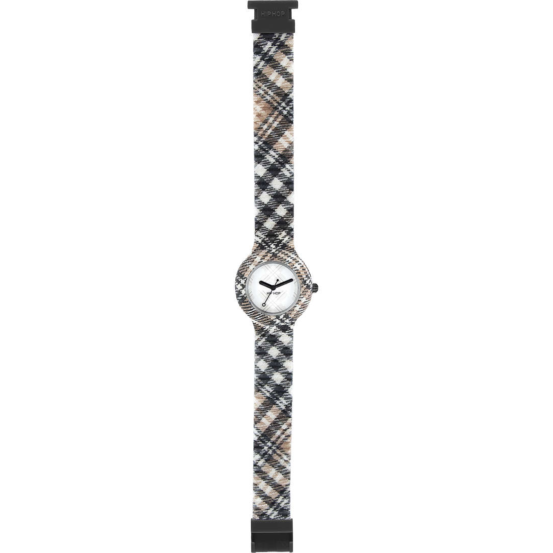 watch only time unisex Hip Hop Tartan HWU0374