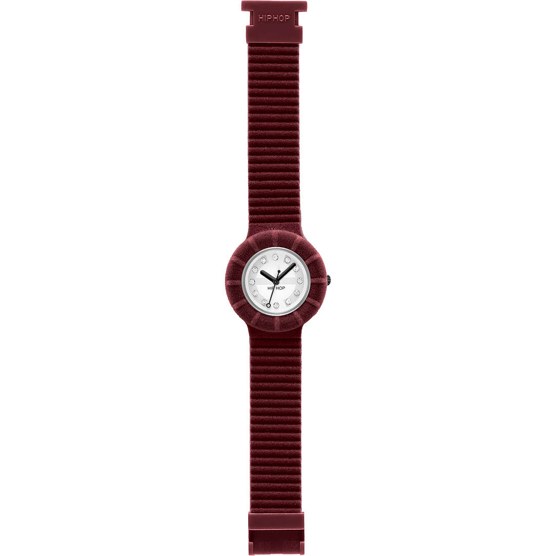 watch only time unisex Hip Hop Velvet touch HWU0142