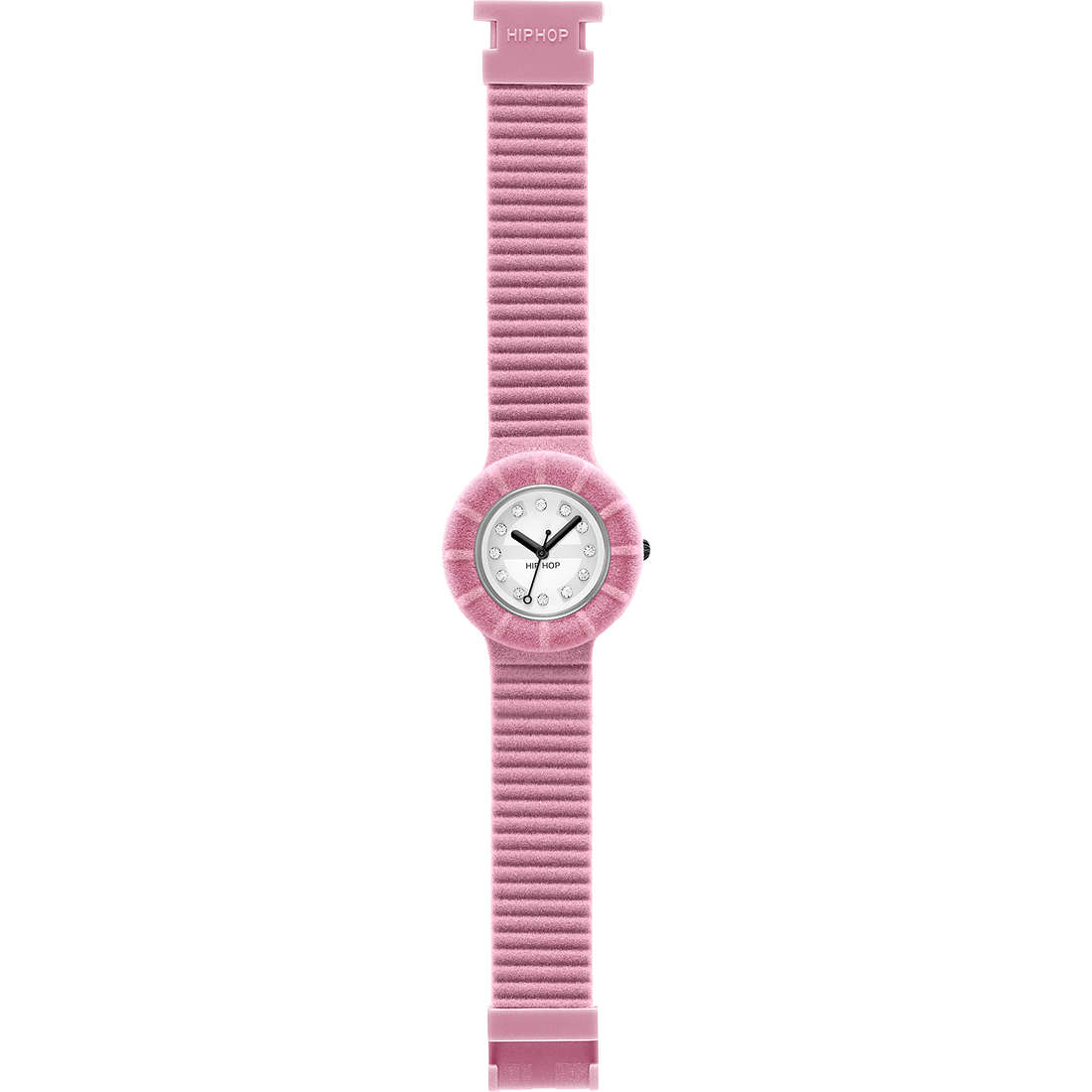 watch only time unisex Hip Hop Velvet touch HWU0144