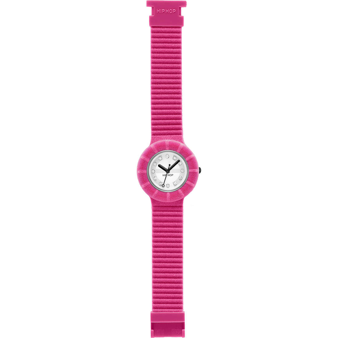 watch only time unisex Hip Hop Velvet touch HWU0145