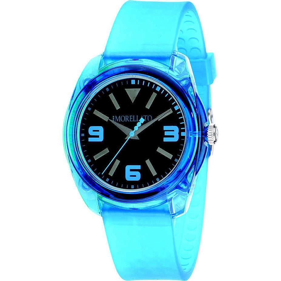 watch only time unisex Morellato Black & White R0151101015