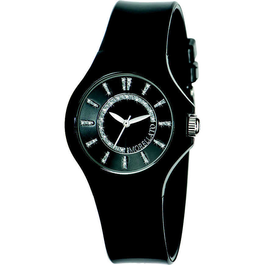 watch only time unisex Morellato Black & White R0151114509