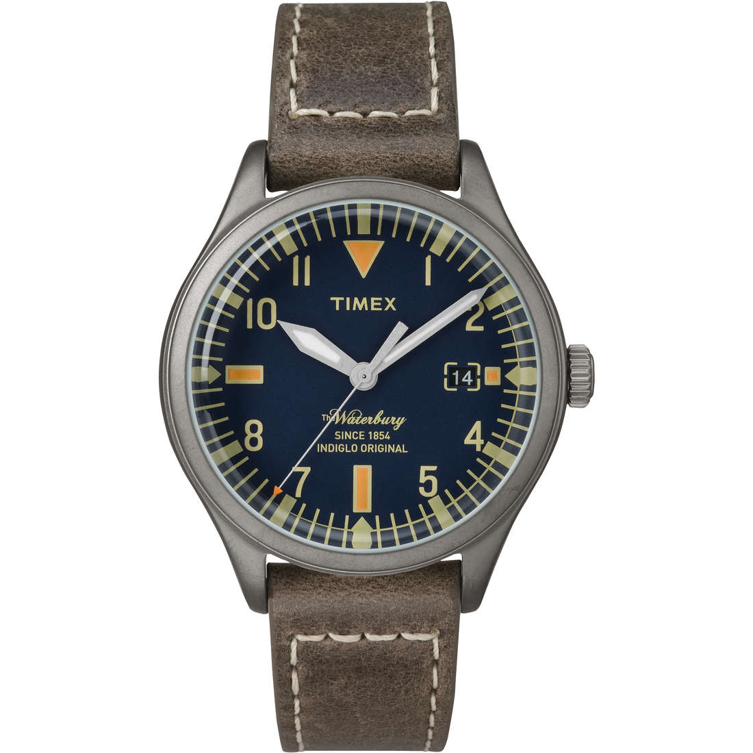 watch only time unisex Timex Waterbury Collection TW2P84400